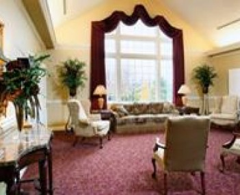 Interior shot of Devlin Funeral Home