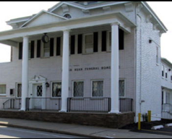 Exterior shot of Miller Bean Funeral Home Incorporated