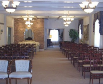 Interior shot of Houck & Gofus Funeral Home Incorporated