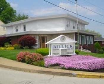 Exterior shot of Billick Funeral Home Incorporated
