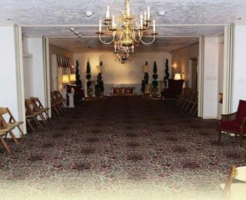 Interior shot of Frank Kapr Funeral Home Incorporated