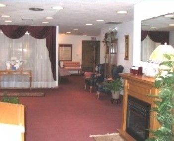 Interior shot of Behrens Wilson Funeral Home