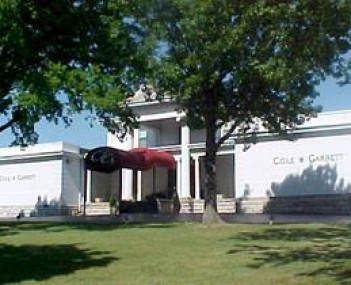 Exterior shot of Cole & Garrett Funeral Home