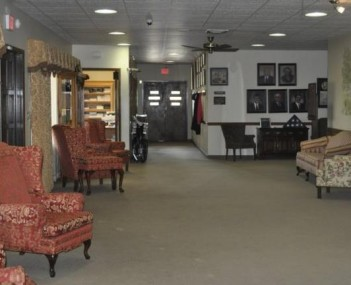 Interior shot of Farrar Funeral Home