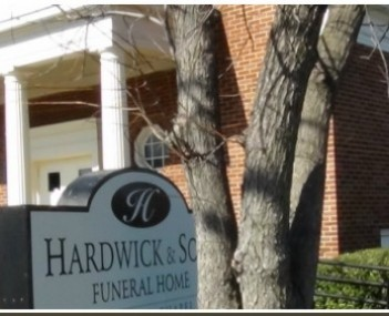Exterior of Hardwick & Sons Funeral Home