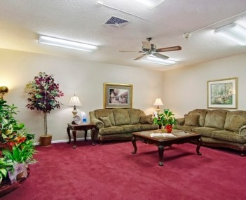 Interior shot of Hubbard Kelly Funeral Home