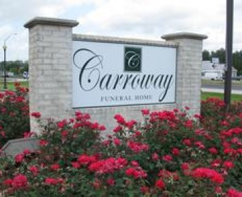 Exterior shot of Carroway Claybar Funeral Home