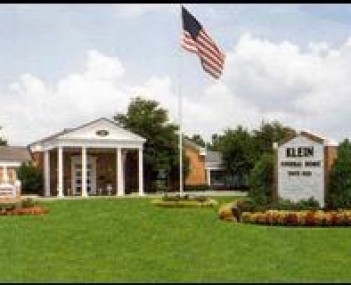 Exterior shot of Klein Funeral Homes