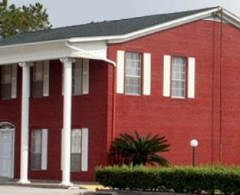 Exterior shot of Hayes Funeral Home
