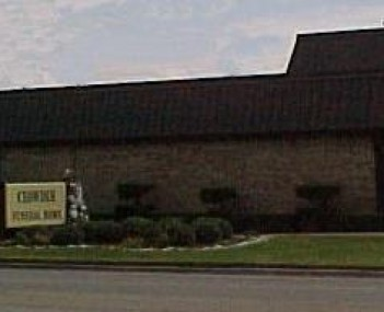 Exterior shot of James Crowder Funeral Homes