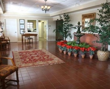 Interior shot of Buck-Ashcraft Funeral Home