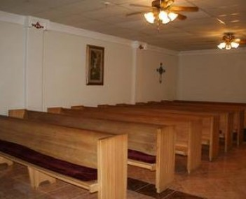 Interior shot of Trevino Funeral Home