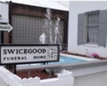 Exterior shot of Swicegood Funeral Home