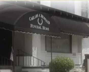 Exterior shot of Carlos A Howard Funeral Home