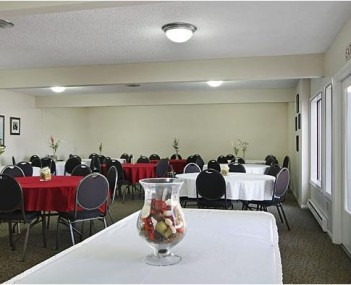 Interior shot of Miller-Woodlawn Funeral Home