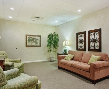 Interior shot of Keith & Keith Funeral Home