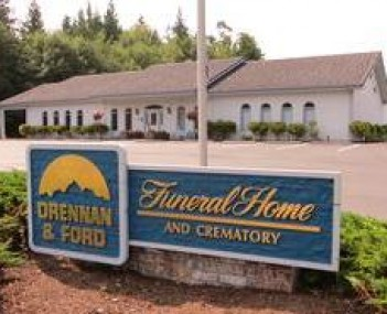 Exterior Shot of Drennan & Ford Funeral Home and Crematory