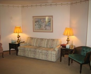 Interior shot of Beil-Didier Funeral Home
