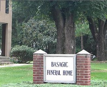 Exterior shot of Basagic Funeral Home