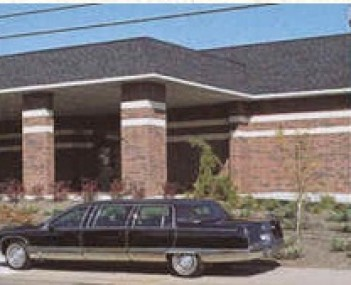 Exterior shot of Kimes Funeral Home Incorporated