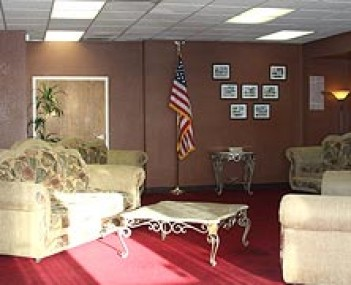 This welcoming space in Abel Funeral Services funeral home creates a comfortable environment.