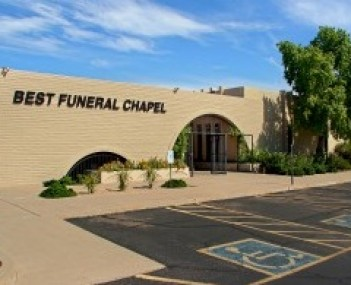 Exterior shot of Best Funeral Choices
