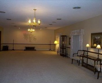 Interior shot of Reed Funeral Home Limited