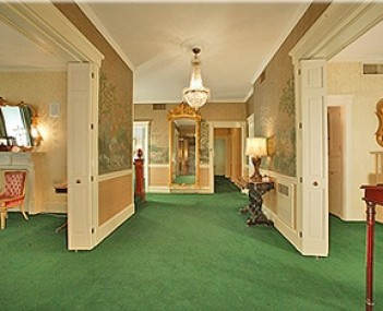 Interior shot of O'Keefe-Wade Funeral Home