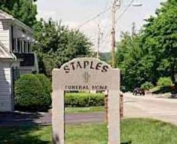 Exterior shot of Staples Funeral & Cremation
