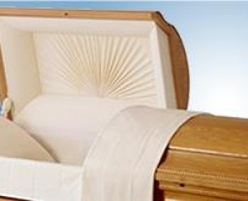 Casket of F John Ramsey Funeral Home