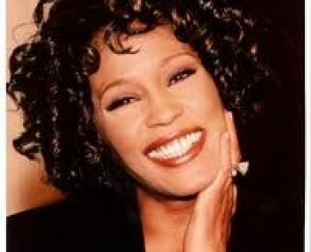 Whitney Houston in happier times.
