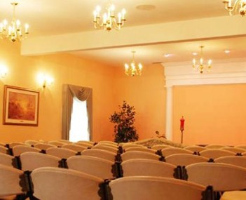 Interior shot of Maxwell Funeral Home