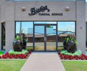 Exterior shot of Bishop Funeral Service