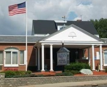 Exterior shot of Vazza's Beechwood Funeral Home