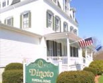 Exterior shot of Mystic-Dinoto Funeral Home
