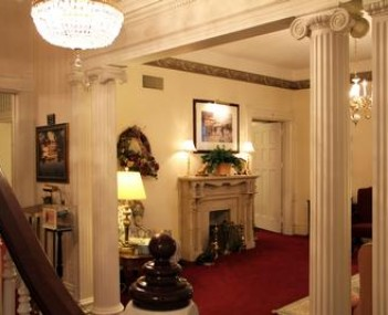 Interior shot of Harold W. Stevenson Funeral Home