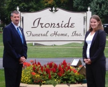 Exterior shot of Ironside Funeral Home