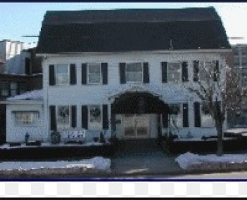 Exterior shot of D'Angelo Funeral Home