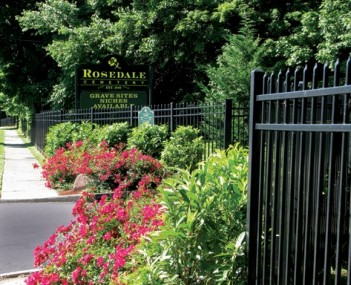 Exterior shot of Rosedale Cemetery & Crematory