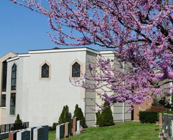 Exterior shot of St Michael's Cemetery