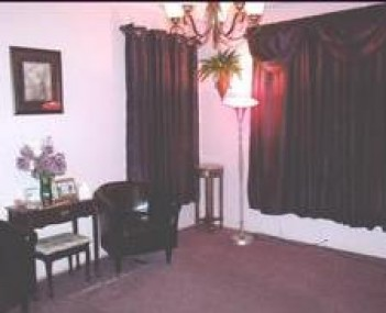 Interior shot of Milton Funeral Home