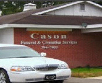 Exterior shot of Cason Funeral & Cremation Service