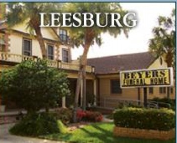 Exterior shot of Beyers Funeral Home_leesburg