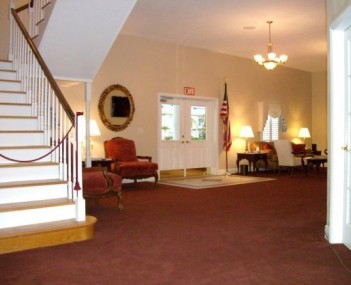 Interior shot of Fuller Funeral Home Cremation Service