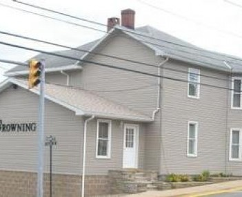 Exterior shot of Browning Funeral Home Incorporated