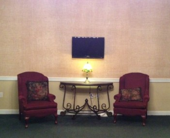 Interior shot of Lemley Funeral Home & Crematory