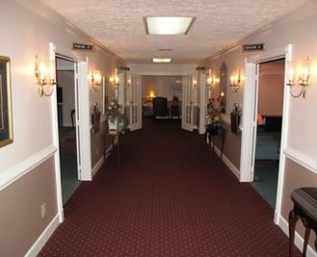Interior shot of Cullman Funeral Home