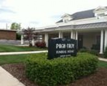 Exterior shot of Pugh Troy Funeral Home