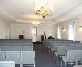 Interior shot of JC Green & Sons Funeral Home