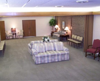 Interior shot of Cumby Family Funeral Service